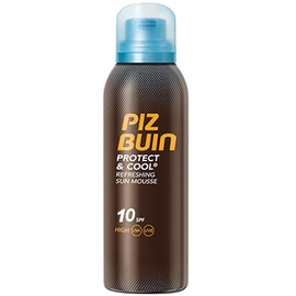 Piz buin protect & cool mousse solaire spf10 - 150ml - piz buin -205141