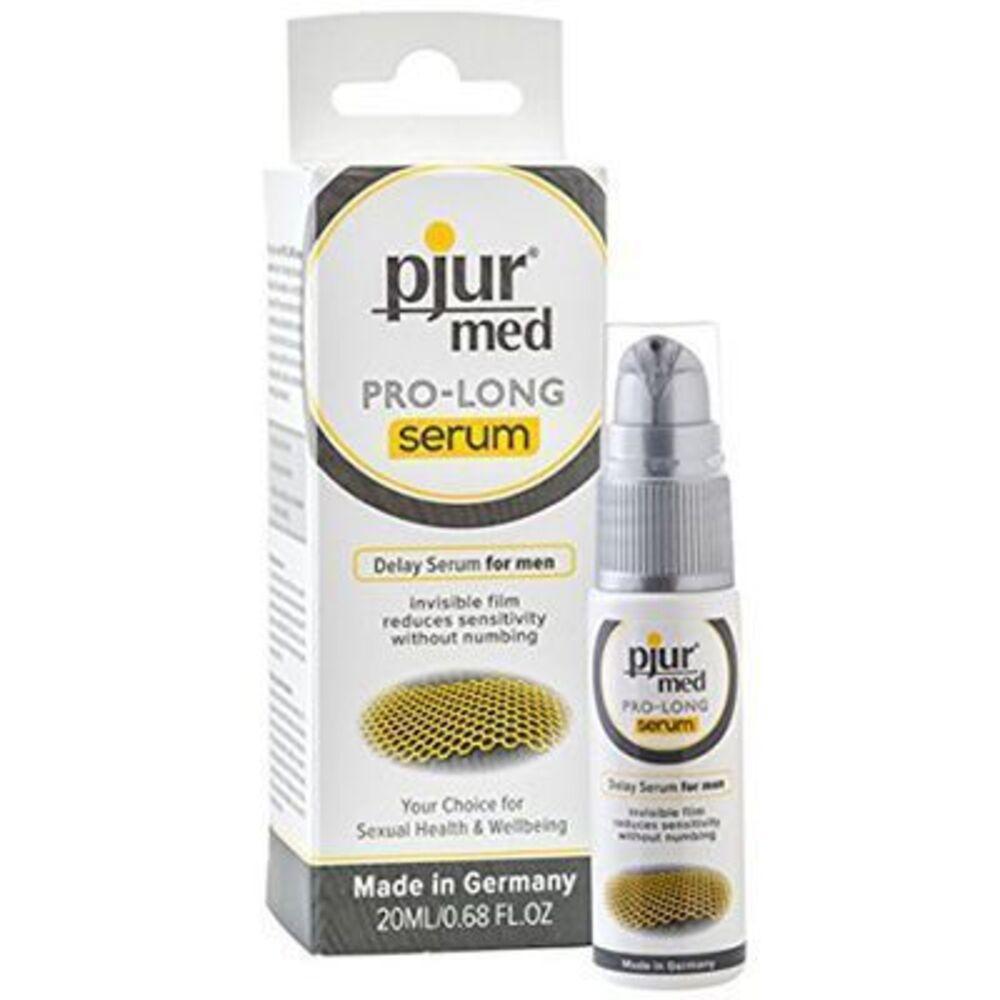 Pjur med pro-long serum 20ml - pjur -222911