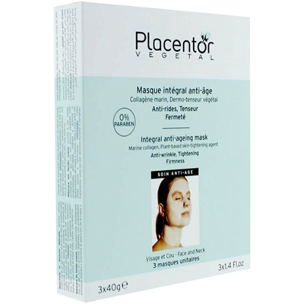Placentor vegetal masque intégral anti-âge x3 - placentor vegetal -205842