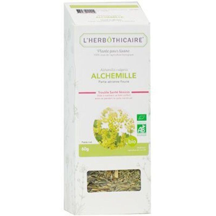 Plante pour tisane alchemille bio 60g L'herbothicaire-220342