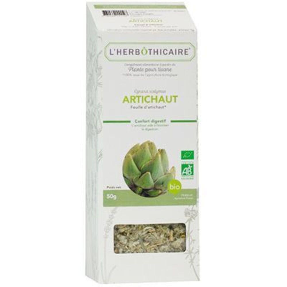 Plante pour Tisane Artichaut Bio 50g - L'herbothicaire -220345