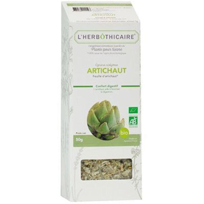 Plante pour tisane artichaut bio 50g L'herbothicaire-220345