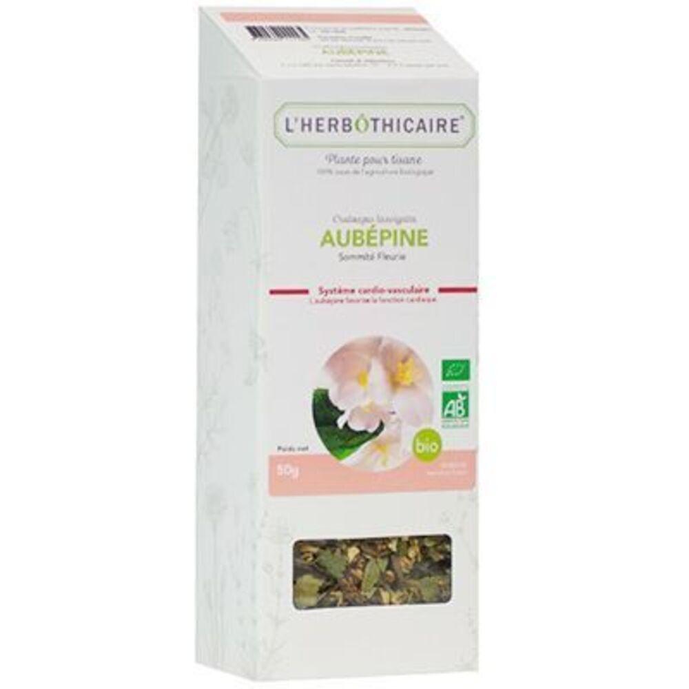 Plante pour Tisane Aubépine Bio 50g - L'herbothicaire -220346