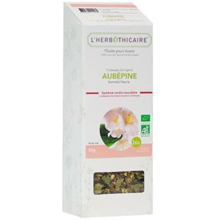 Plante pour tisane aubépine bio 50g L'herbothicaire-220346