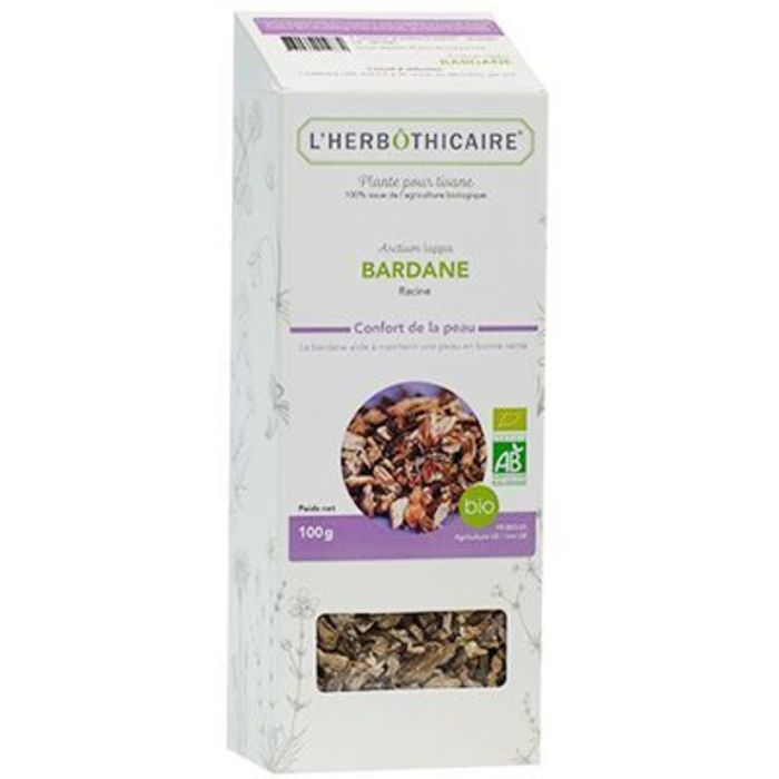 Plante pour tisane bardane bio 100g L'herbothicaire-220349