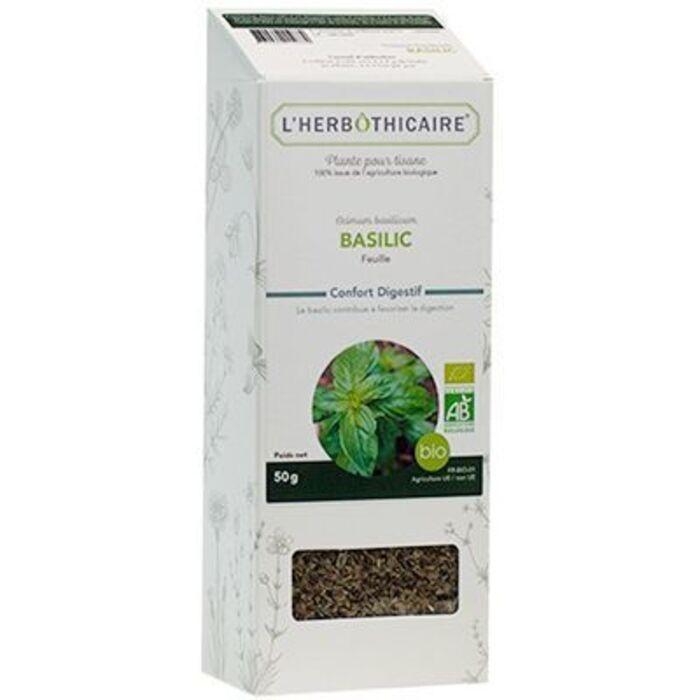 Plante pour tisane basilic bio 50g L'herbothicaire-220350