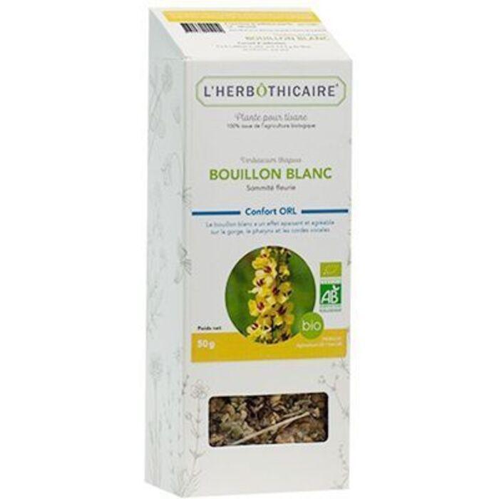 Plante pour tisane bouillon blanc bio 50g L'herbothicaire-220351