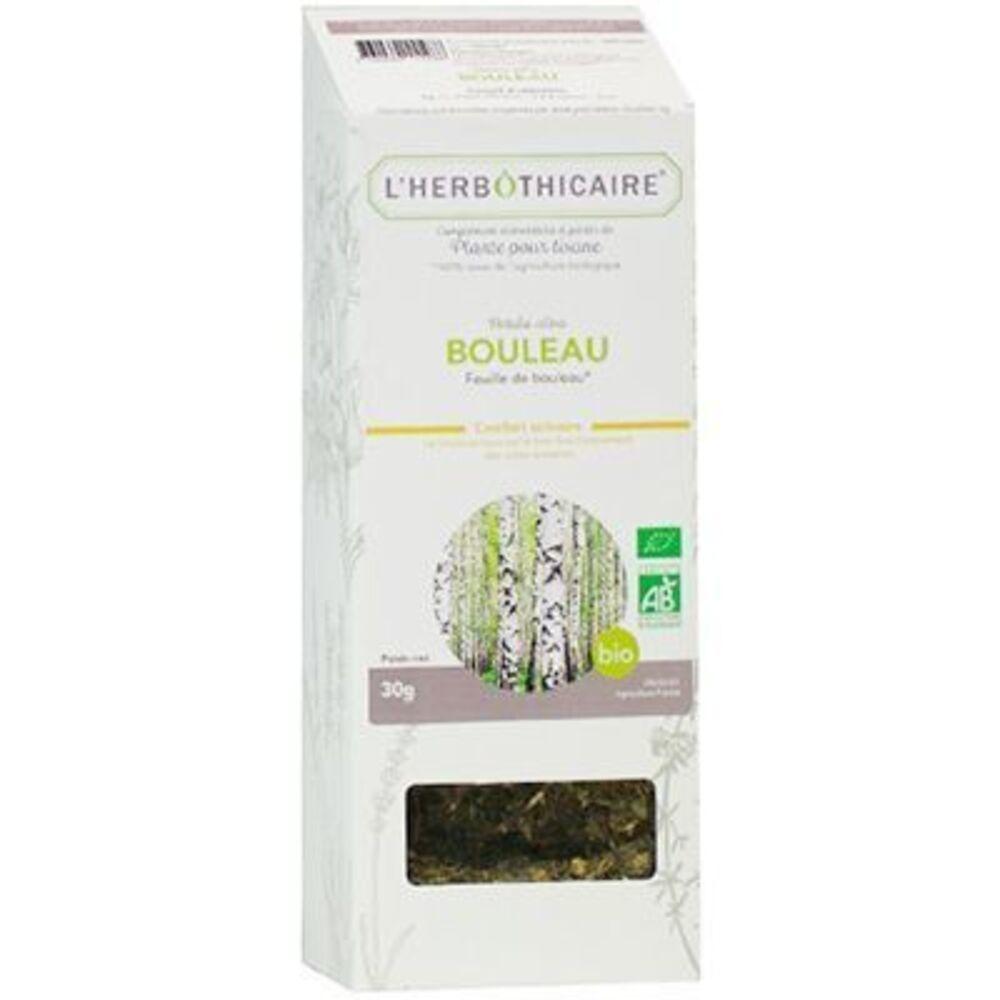 Plante pour Tisane Bouleau Bio 30g - L'herbothicaire -220352