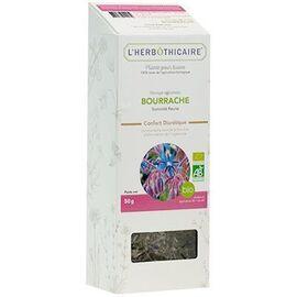 Plante pour tisane bourrache bio 50g - l'herbothicaire -220353