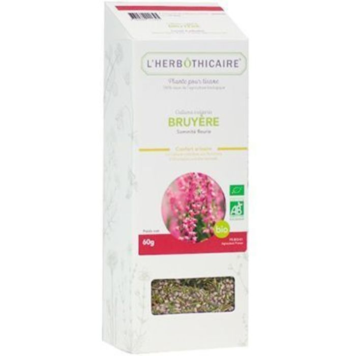 Plante pour tisane bruyère cendrée bio 60g L'herbothicaire-220354