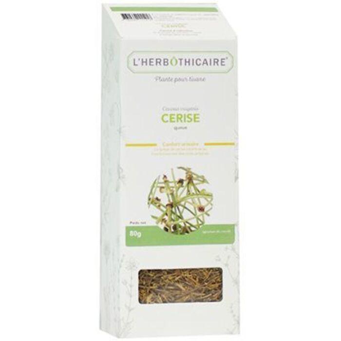 Plante pour tisane cerise 80g L'herbothicaire-220358