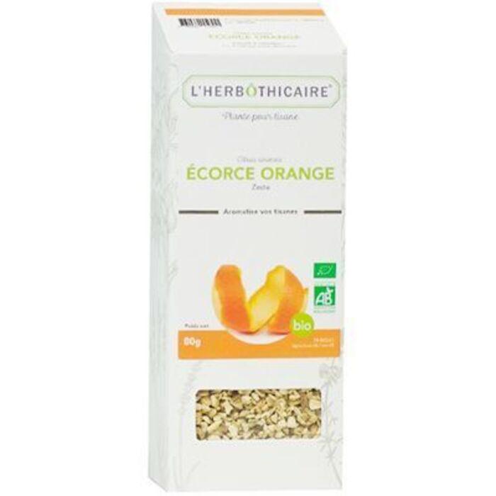 Plante pour tisane écorce d'orange bio 80g L'herbothicaire-220363