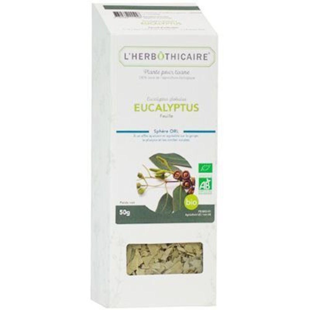 Plante pour Tisane Eucaluyptus Bio 70g - L'herbothicaire -220364