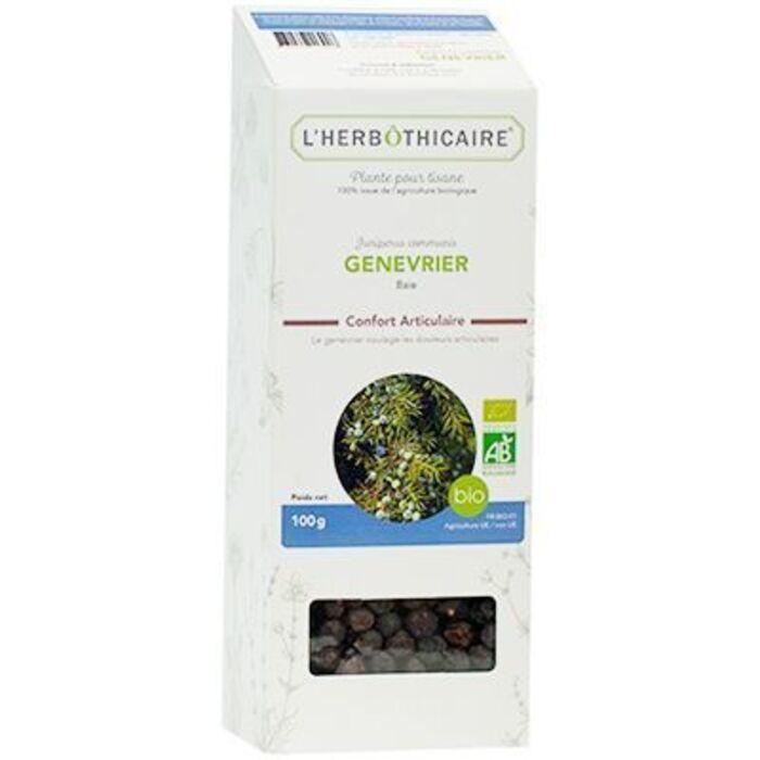 Plante pour tisane genévrier bio 100g L'herbothicaire-220369