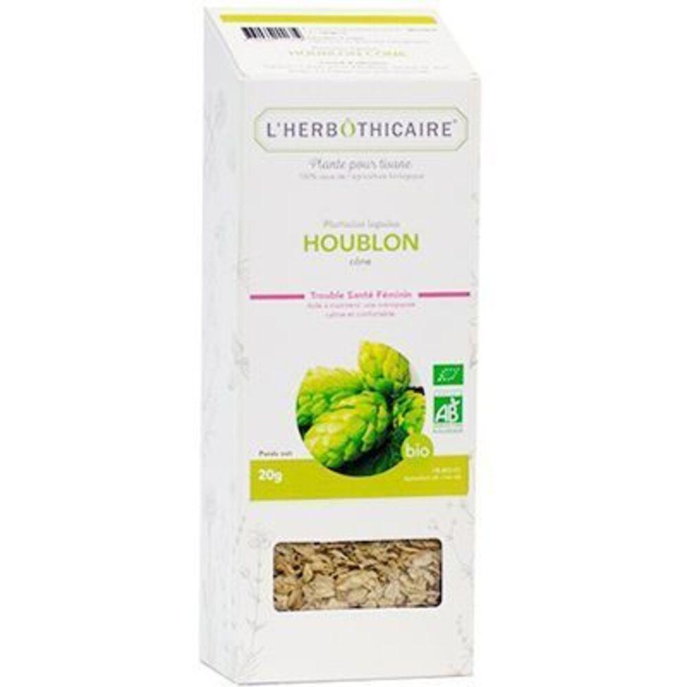 Plante pour Tisane Houblon Bio 20g - L'herbothicaire -220375