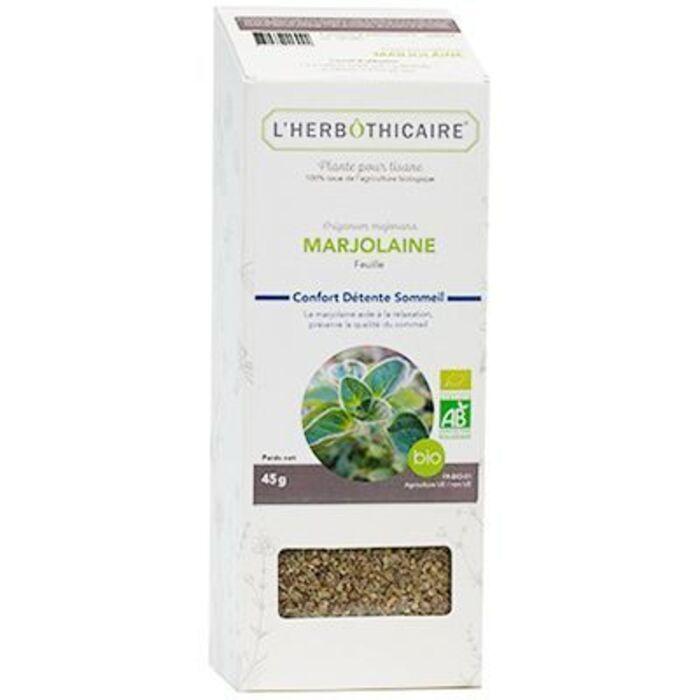Plante pour tisane marjolaine bio 45g L'herbothicaire-220376