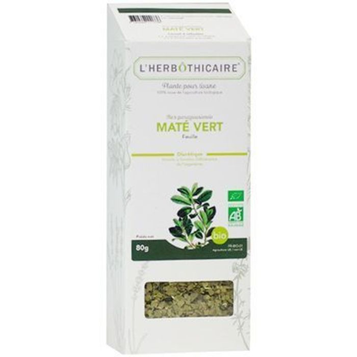 Plante pour tisane maté vert bio 80g L'herbothicaire-220377