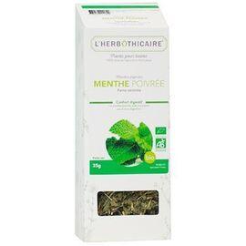 Plante pour tisane menthe poivrée bio 35g - l'herbothicaire -220379