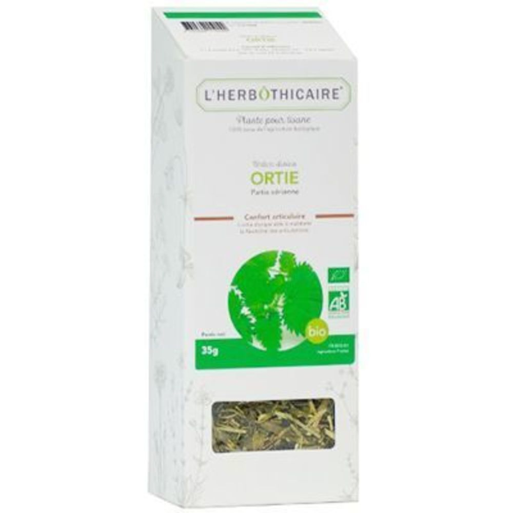 Plante pour Tisane Ortie Bio 35g - L'herbothicaire -220384