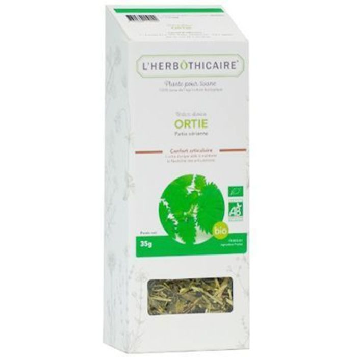 Plante pour tisane ortie bio 35g L'herbothicaire-220384