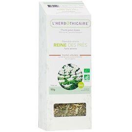 Plante pour tisane reine des prés bio 50g - l'herbothicaire -220390