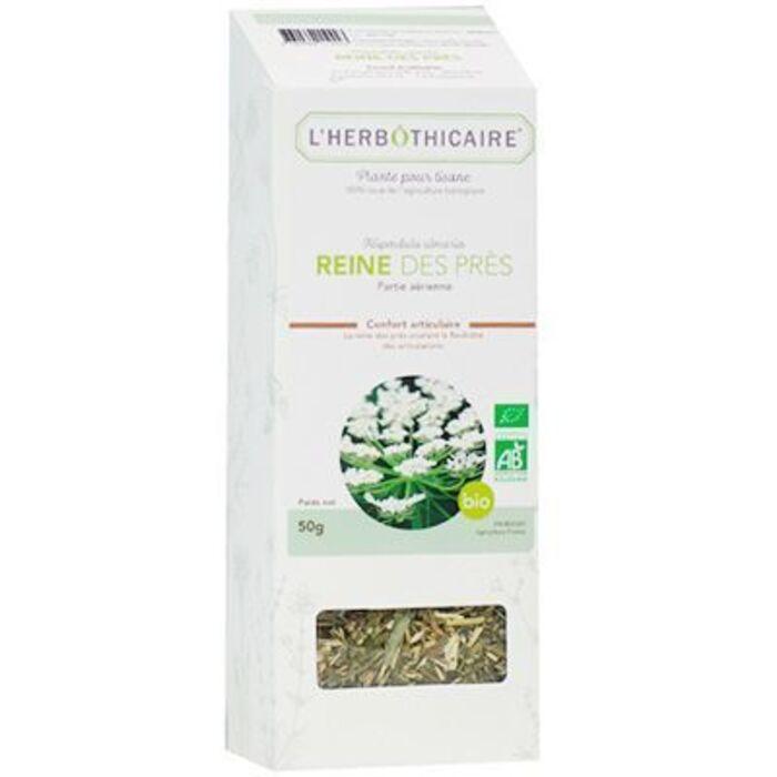 Plante pour tisane reine des prés bio 50g L'herbothicaire-220390