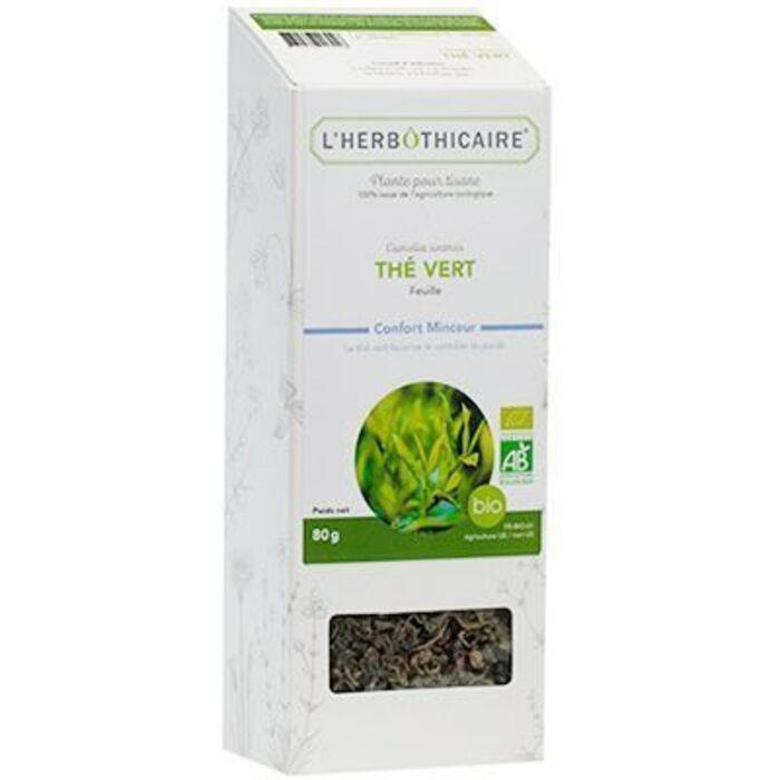 Plante pour tisane thé vert bio 80g L'herbothicaire-220393