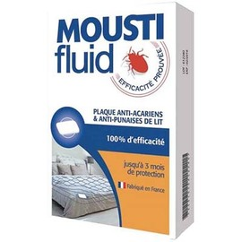 Plaque anti-acariens & anti-punaises de lit - moustifluid -212462
