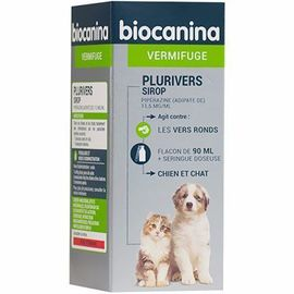 Plurivers - 90.0 ml - vermifuge - biocanina -215470