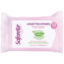 Pocket lingettes x10 - 10.0  - saforelle -13151