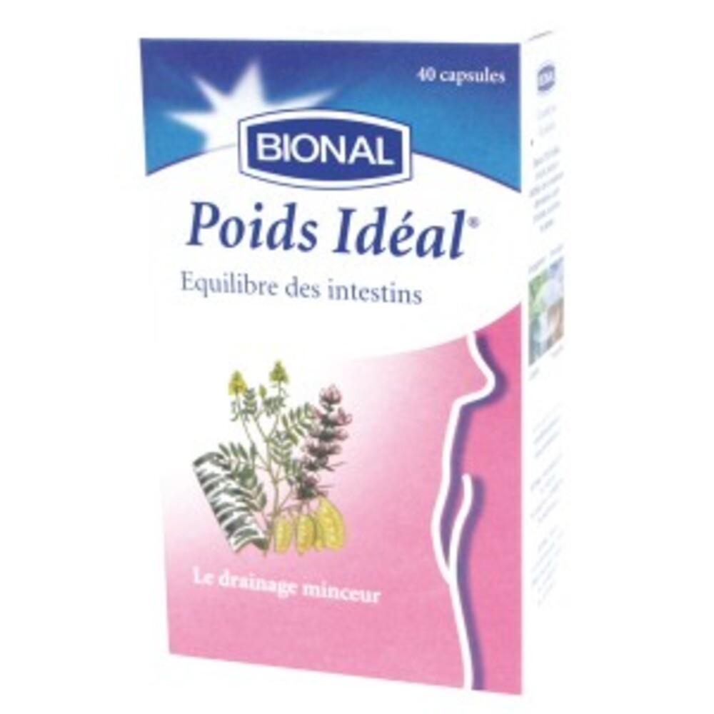 Poids idéal - 40.0 unites - minceur - bional Favorise l'effet ventre plat-1357