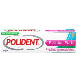 Polident fixation forte crème fixative 40g - polident -219181