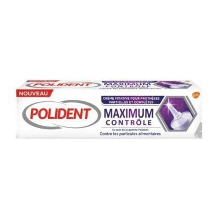 Polident maximum contrôle crème fixative 70g Polident-226647