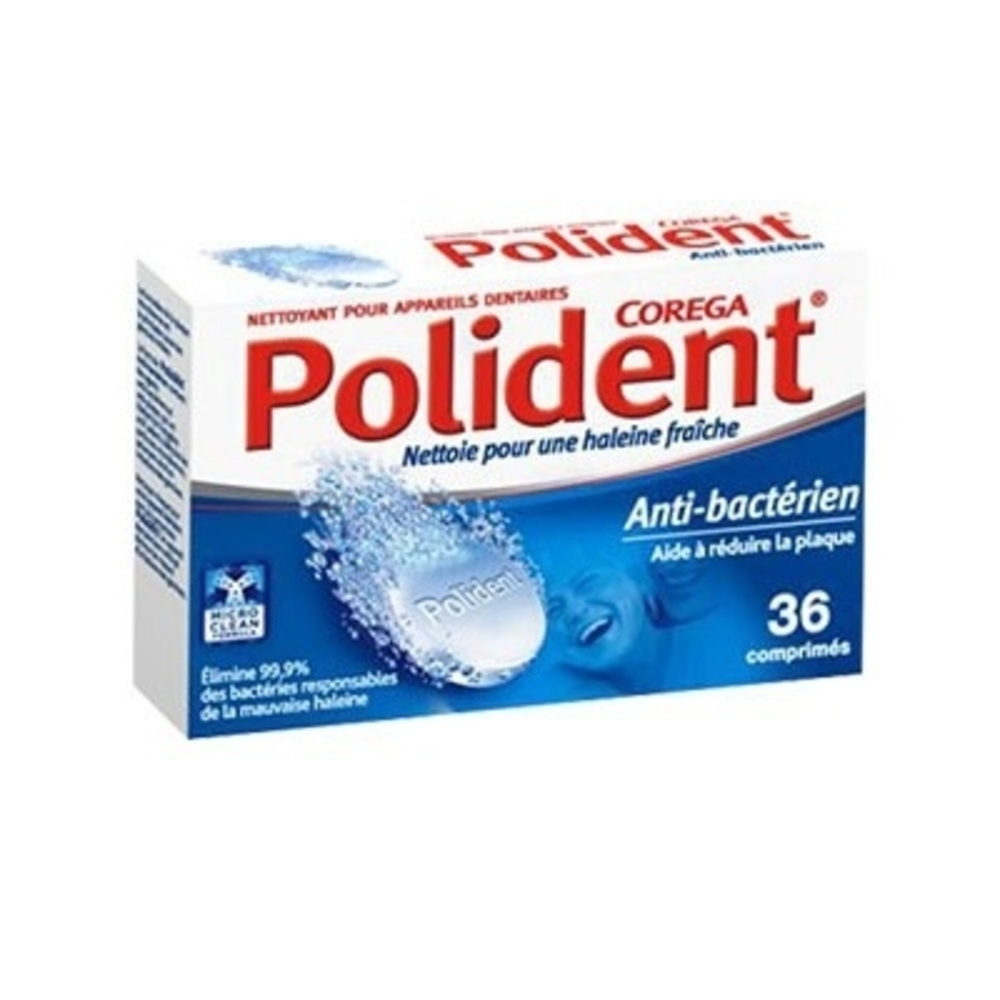 POLIDENT Nettoyant Anti-bactérien - Polident -190086
