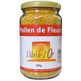 Pollen de fleurs - 230 grammes - divers - alveole d'or -133405