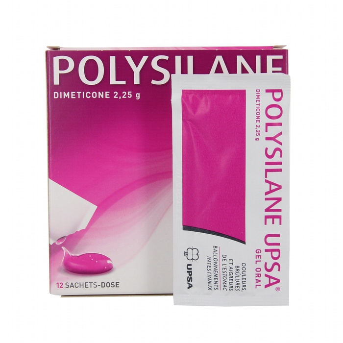 Polysilane  gel oral sachets x12 Upsa-193003