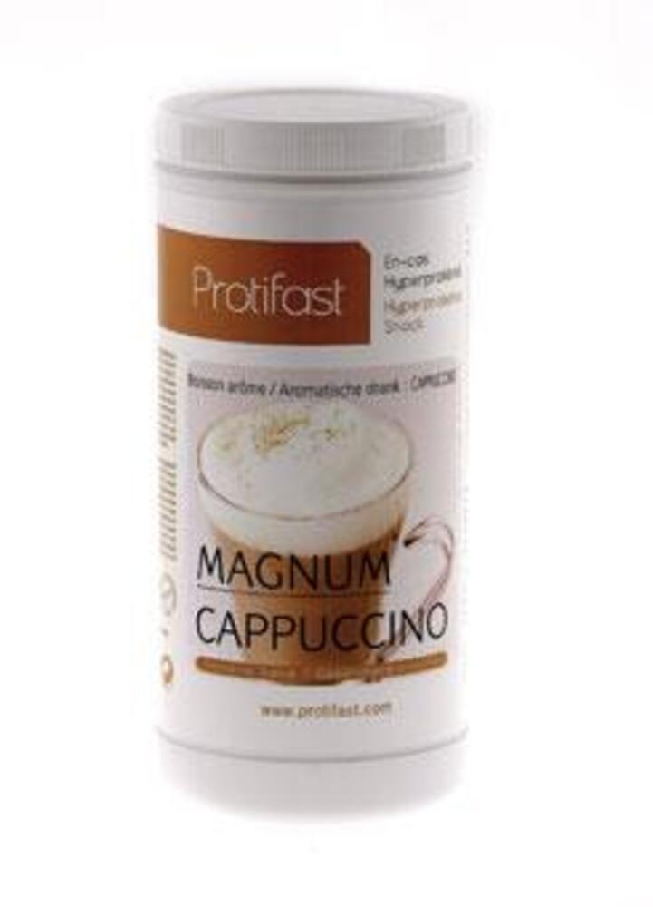 Pot boisson cappuccino x1 - protifast Cappuccino hyperprotéiné - Pot économique 500g-148452