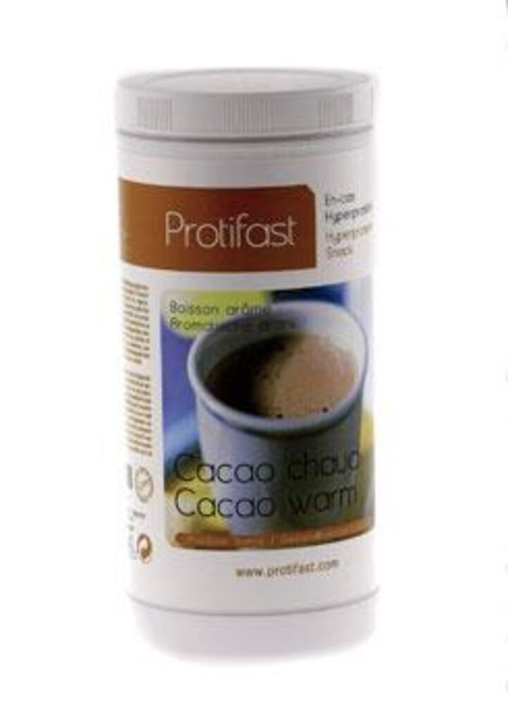 Pot cacao chaud x1 - protifast Cacao chaud hyperprotéiné - Pot économique 500g-148459