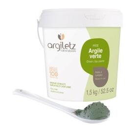 Pot d'argile verte - 1500.0 g - argile prête à l'emploi - argiletz -9614