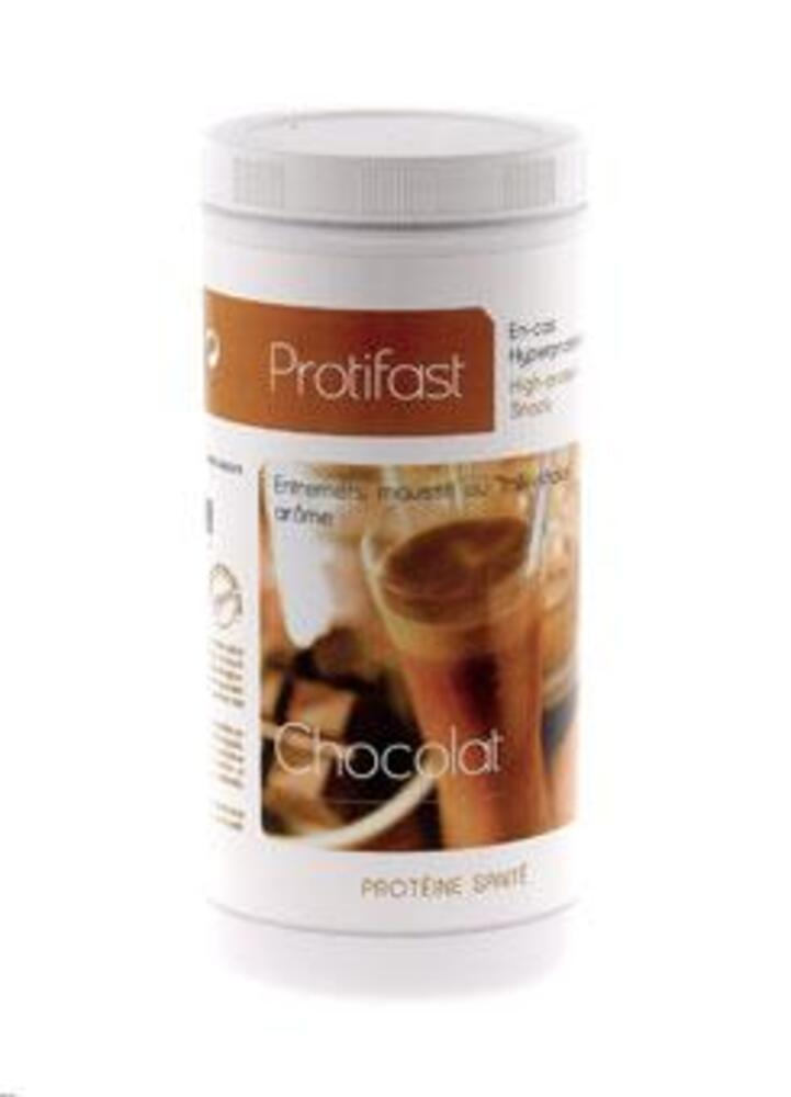 Pot entremets chocolat x1 - protifast Dessert chocolat hyperprotéiné - Pot économique 500g-148461