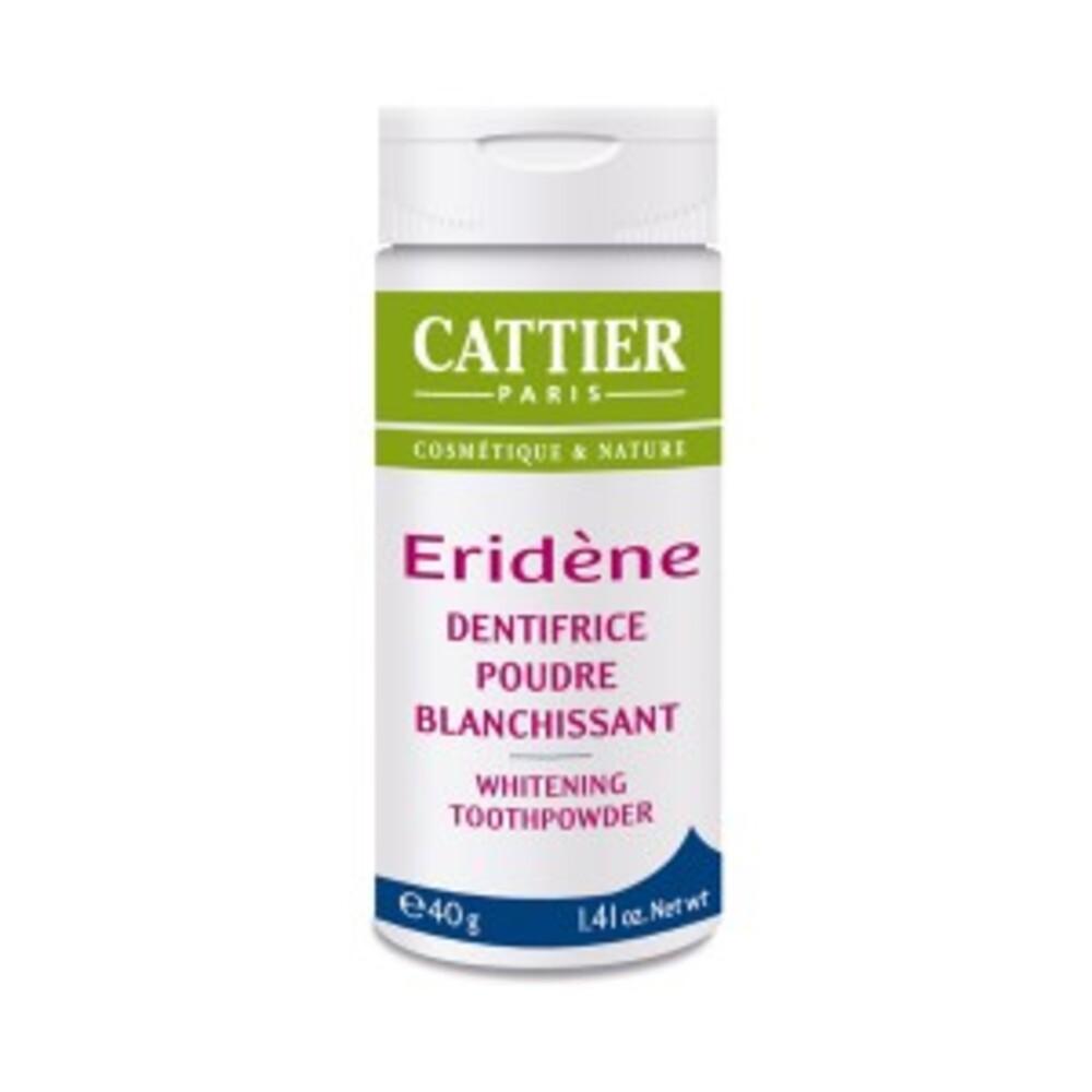 Poudre blanchissante 40g - 40.0 g - eridène - cattier Anti-tâches, anti-tartre, anti-plaque et anti-carrie-1667