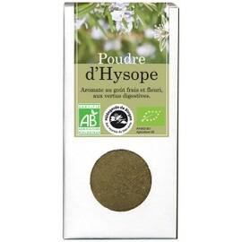 Poudre d'hysope bio - boîte de 40 g - divers - florisens -135775