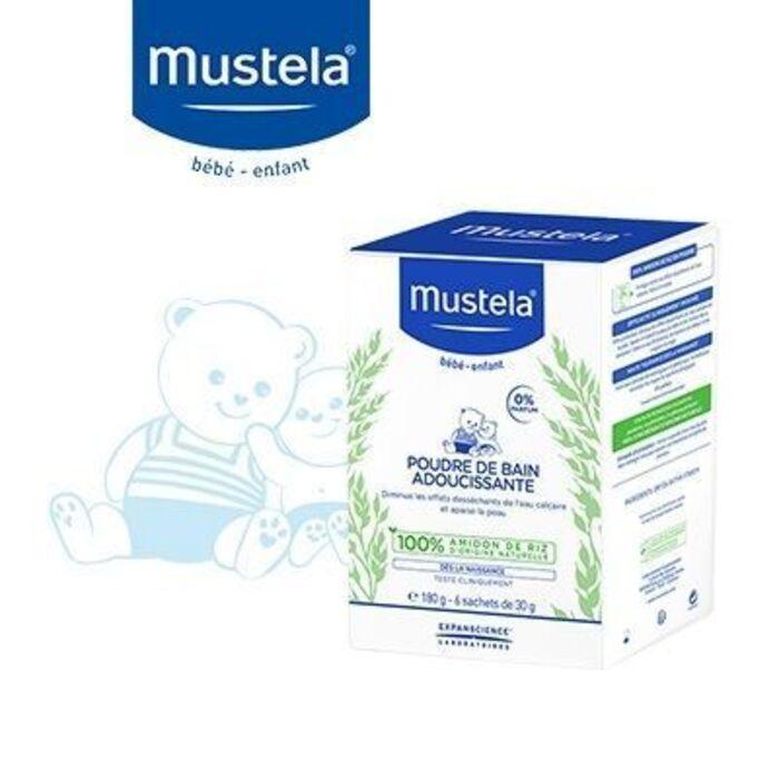 Poudre de bain adoucissante 6x30g Mustela-223639