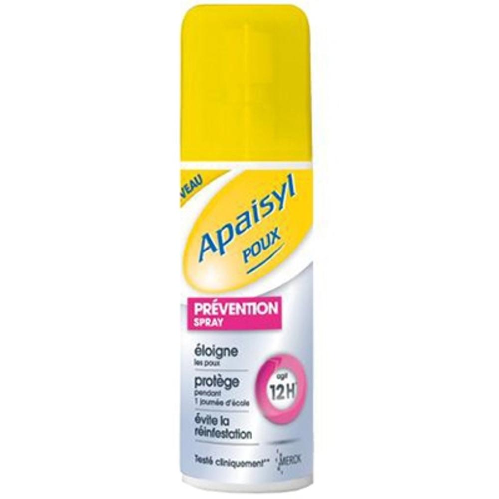 Poux apaisyl prevention spray 90ml - 90.0 ml - apaisyl -146550
