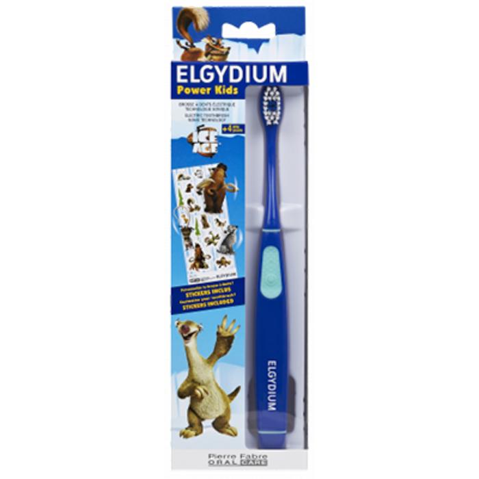 Power kids brosse à dents electrique age de glace bleu Elgydium-226643