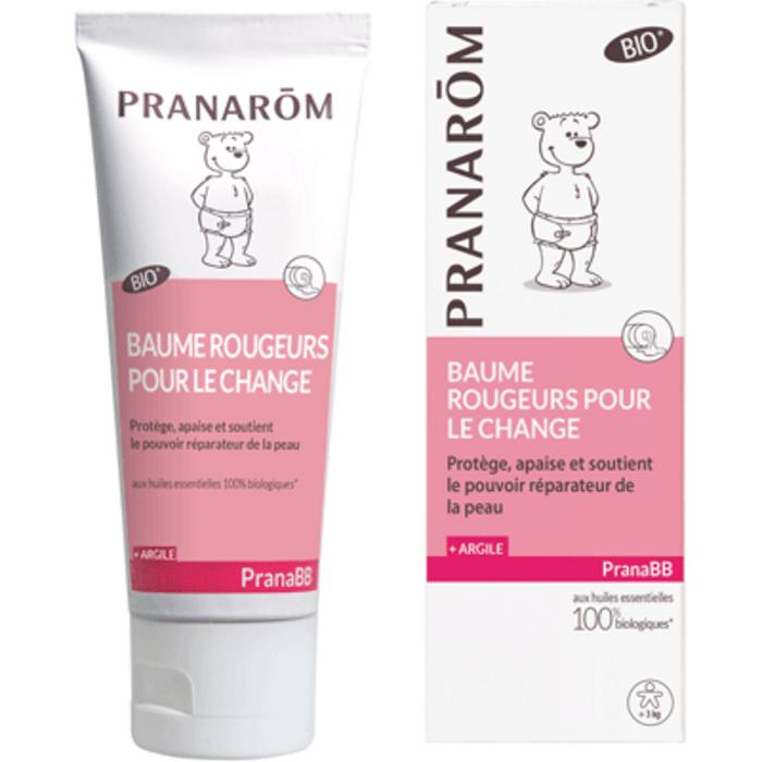 Pranabb baume rougeurs pour le change bio 75ml Pranarom-219392