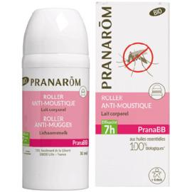 Pranabb roller anti-moustiques lait corporel bio 30ml - pranarom -221056