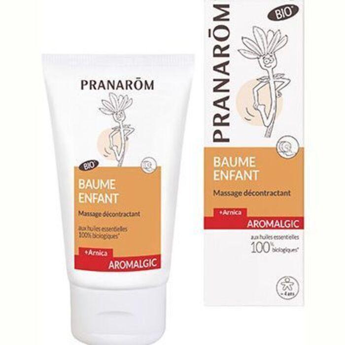 Pranaorm aromalgic baume enfant massage 40ml Pranarom-226335