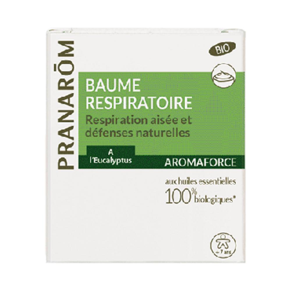 Pranarom aromaforce baume respiratoire 80ml - divers - pranarom -189779