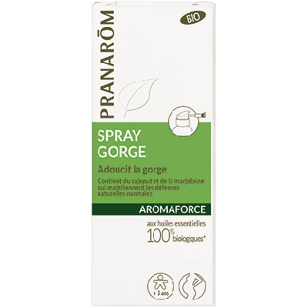 Pranarom aromaforce spray gorge 15ml - divers - pranarom -189868